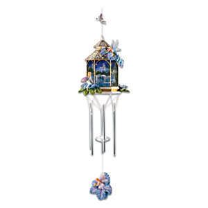 "Mimi Jobe ""Twilight Enchantment"" Indoor Wind Chime"