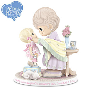 Precious Moments Figurine Honoring A Grandmother's Legacy