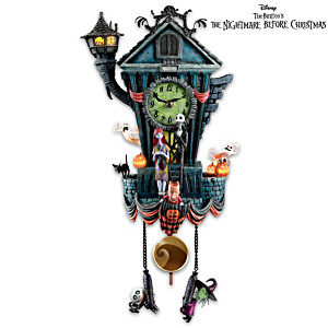 "Tim Burton's ""The Nightmare Before Christmas"" Wall Clock"