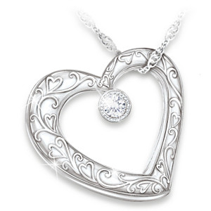 """Celebration Of Motherhood"" Diamond Pendant Necklace"