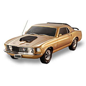 Mustang Boss 429: Mustang 50 Years 10K Gold-Plated Edition