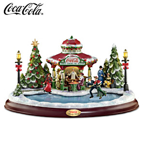 """COCA-COLA """"Victorian Holiday"""" With Lights, Motion And Music"""