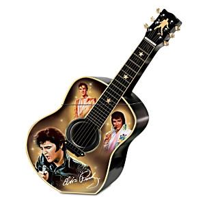 """""""Elvis A Taste Of Rock 'N' Roll"""" Ceramic Cookie Jar"""