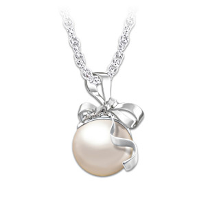 Cultured Freshwater Pearl Necklace For Granddaughter