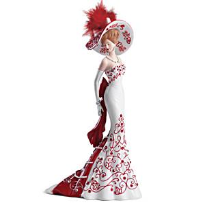 "Patriotic ""Lady Freedom"" Figurine Honours Canadian Pride"