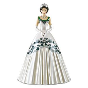 "Queen Elizabeth II ""Maple Leaf Of Canada Dress"" Figurine"
