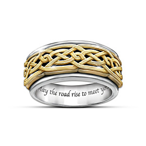 Celtic Traditions Ring Size 14-1/2