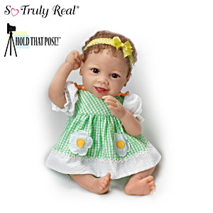"""Linda Murray """"Put On A Happy Face"""" Poseable Baby Doll"""