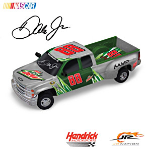Dale Jr. #88 Diet Mountain Dew 1:18-Scale Truck Sculpture