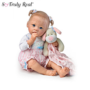 """Sleepytime Emma"" Baby Doll ""Sucks"" Her Thumb"