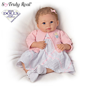 Realistic Baby Girl Doll By Artist Linda Murray