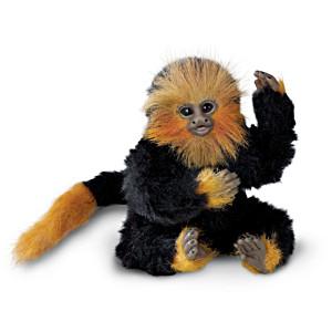 """Little Ala"" Finger Monkey Doll By Angelica Holm"