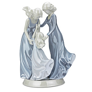 "Family ""Love Carries On"" Heirloom Porcelain Figurine"