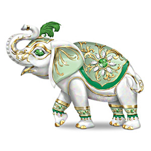 """Fortune's Smile"" Elephant Figurine"