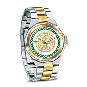 """Erin Go Bragh"" Engraved Men's Dress Watch"