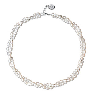 """Anne's Pearls"" Genuine Cultured Freshwater Pearl Necklace"