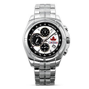 """Molson Canadian"" Stainless Steel Men's Chronograph Watch"