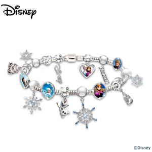 Disney FROZEN Heirloom Beaded Charm Bracelet
