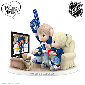 Precious Moments Maple Leafs® Fan Porcelain Figurine