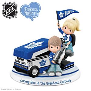 Precious Moments Maple Leafs® Couple Figurine
