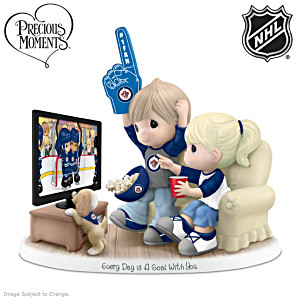 Precious Moments Jets™ Fan Porcelain Figurine
