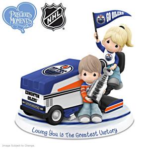 Precious Moments Oilers® Couple Figurine