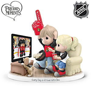 Precious Moments Senators® Fan Porcelain Figurine