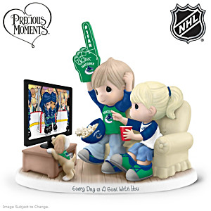 Precious Moments Canucks® Fan Porcelain Figurine