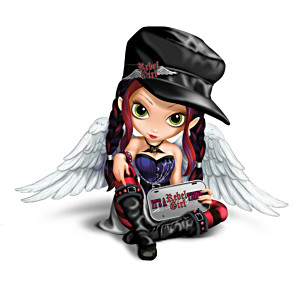 "Jasmine Becket-Griffith ""It's A Rebel Girl Thing"" Figurine"