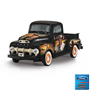 "John Wayne ""The Duke"" 1952 Ford F150 Truck Tribute Sculpture"