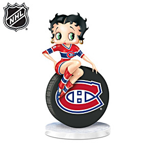 Betty Boop Montreal Canadiens® Fan Figurine