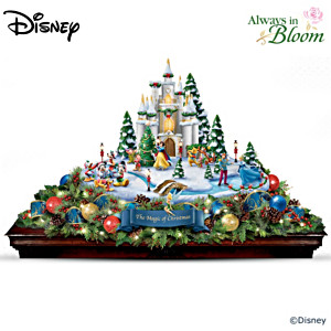 "Disney ""Magic Of Christmas"" Illuminated Musical Centrepiece"