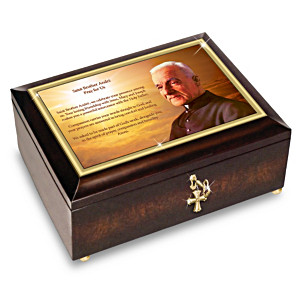 Prayer Of Saint André Music Box With Devotional Prayer