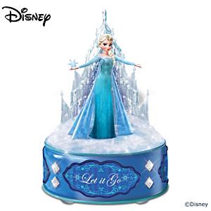 "Disney FROZEN Music Box Lights Up, Plays ""Let It Go"""