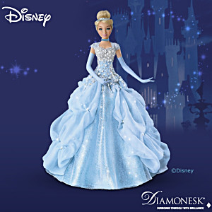"Disney Princess ""Cinderella Sparkling Beauty"" Collector Doll"