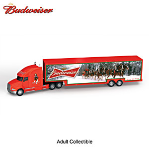 """1:64-Scale Budweiser Clydesdales """"Happy Holidays Hauler"""""""