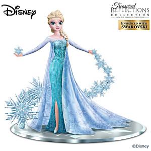 """Disney Frozen """"Let It Go"""" Elsa The Snow Queen Figurine"""