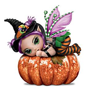 "Jasmine Becket-Griffith ""Pun'kin Pixie"" Halloween Baby Doll"