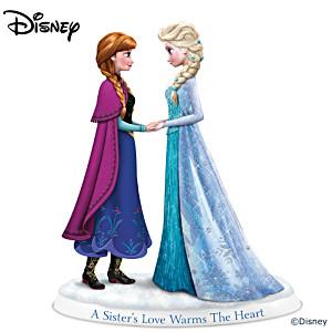 "Disney FROZEN ""A Sister's Love Warms The Heart"" Figurine"