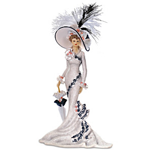 """""""Afternoon At Ascot"""" Victorian Lady Figurine"""