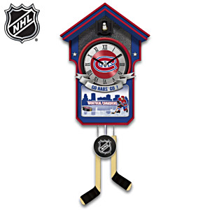 Montreal Canadiens® Wall Clock