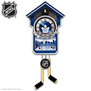 Toronto Maple Leafs® NHL® Wall Clock