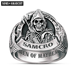 "Sons Of Anarchy ""Men Of Mayhem"" Men's Ring"