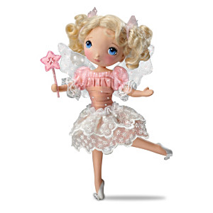 """""""Granddaughter, I Wish You"""" Child Doll With Poem Card"""
