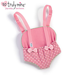 Pink Carrier Accessory For The So Truly Mine Baby Doll
