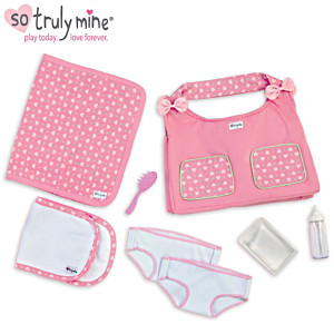 Diaper Bag Accessory Set For The So Truly Mine Baby Doll