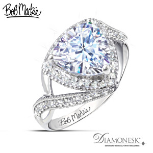 "Bob Mackie ""One In A Trillion"" Simulated Diamond Ring"