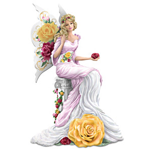 """""""Magical Beauty"""" Figurine Inspired By Rose-Patterned China"""