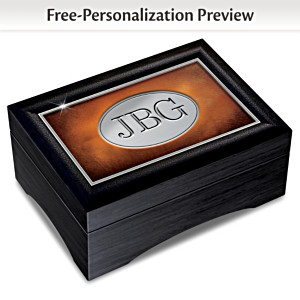 """Son, Forge Your Own Path"" Personalized Keepsake Box"