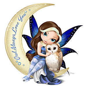 "Jasmine Becket-Griffith ""Owl Always Love You"" Fairy Figurine"